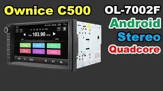 ✅ Ownice C500 ol-7002F အန်းဒရွိုက် 7 လက်မ LCD ကိုကားတစ်စီးအသံကုန်းပတ်