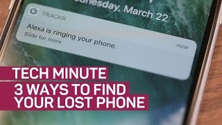3 ways to find your lost phone