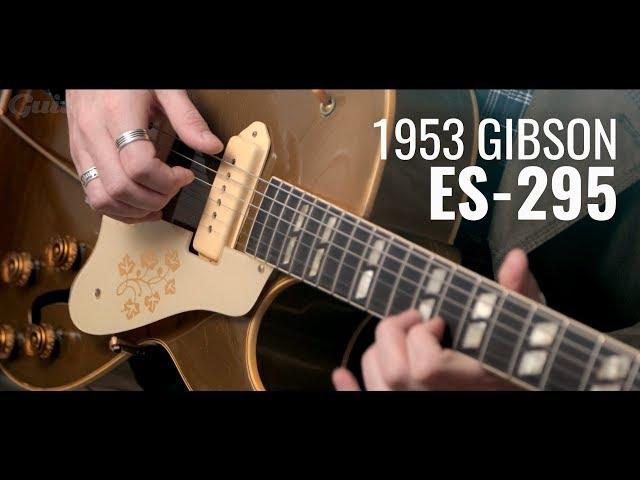 1953 Gibson ES-295 vintage guitar demo | Guitar.com