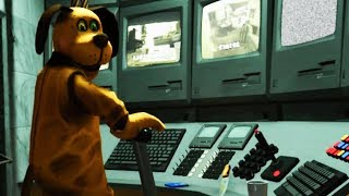 Finding the dogs secret control room! | duck season - fnaf style horror (dog ending)