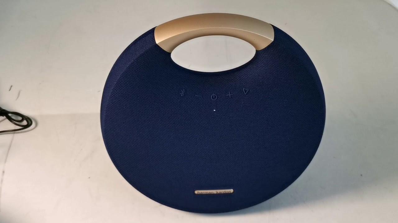 Harman Kardon Onyx Studio 5 Bluetooth speaker Unboxing and Testing