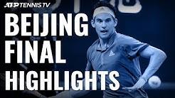 Dominic Thiem Beats Tsitsipas To Win China Open!   Beijing 2019 Final Highlights