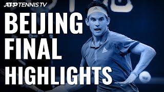 Dominic Thiem Beats Tsitsipas To Win China Open! | Beijing 2019 Final Highlights