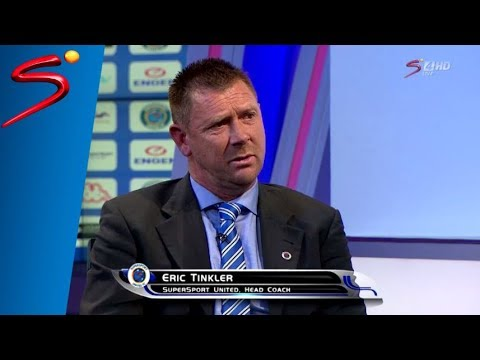 Eric Tinkler announced as SuperSport United coach