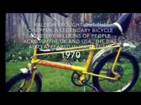 The history of the Raleigh bicycle company 1887-1971