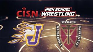 2019 C ML Wrestling Johnston  Dowling Catholic