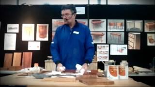 Application Of Livos Natural Oils On Furniture.