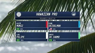 2017 Hawaiian Pro: Round Two, Heat 16