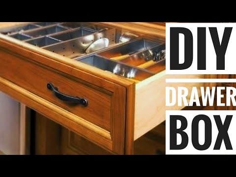 Woodworking DIY - How to Build a Drawer