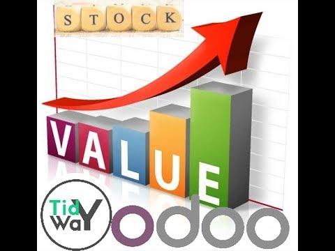 Odoo stock inventory valuation
