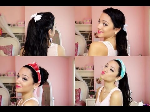 Back to school girly hairstyles youtube back to school girly hairstyles urmus Images