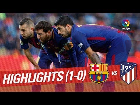 Resumen de FC Barcelona vs Atlético de Madrid (1-0)