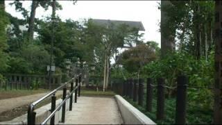 洗足池には勝海舟のお墓と西郷南州の記念碑があります。