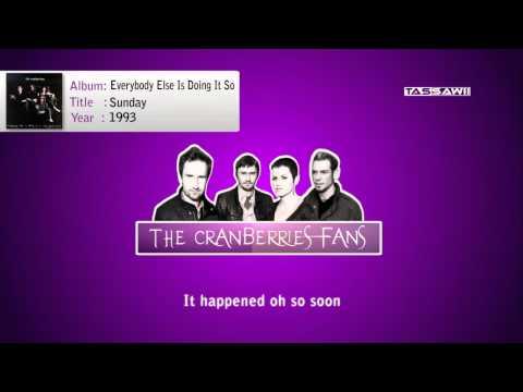 The cranberries - Sunday + Lyrics