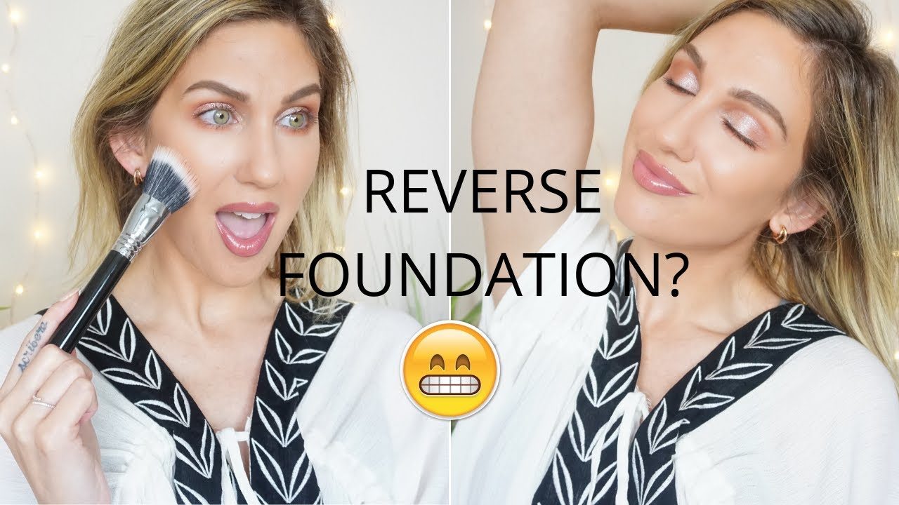 REVERSE FOUNDATION + SIMPLE SUMMER LOOK GRWM