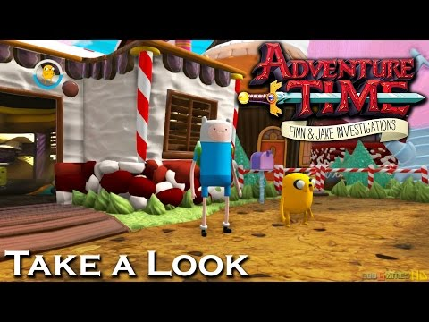 Adventure Time: Finn & Jake Investigations - X360 PS3 Gameplay (XBOX 360 720P) Take a Look
