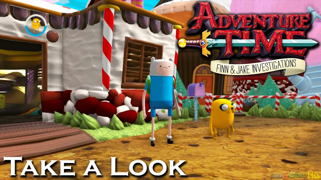 Adventure Time Finn Amp Jake Investigations X360 Ps3