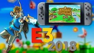 NEW ZELDA GAME!? - CrAzY Nintendo E3 2018 Predictions!