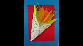 Cách làm thiệp chúc mừng cực dễ - How to Make a Handmade Congratulations Card