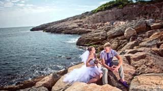 Wedding in Spain Artem and Olga, свадебная фотосессия в Барселоне