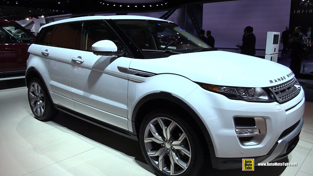2015 Range Rover Evoque Autobiography Exterior And