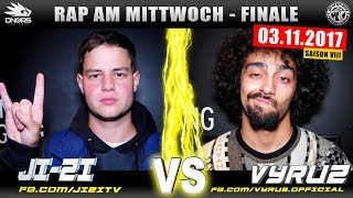 RAP AM MITTWOCH KÖLN: JI-ZI vs VYRUS 03.11.17 BattleMania Finale (4/4) GERMAN BATTLE