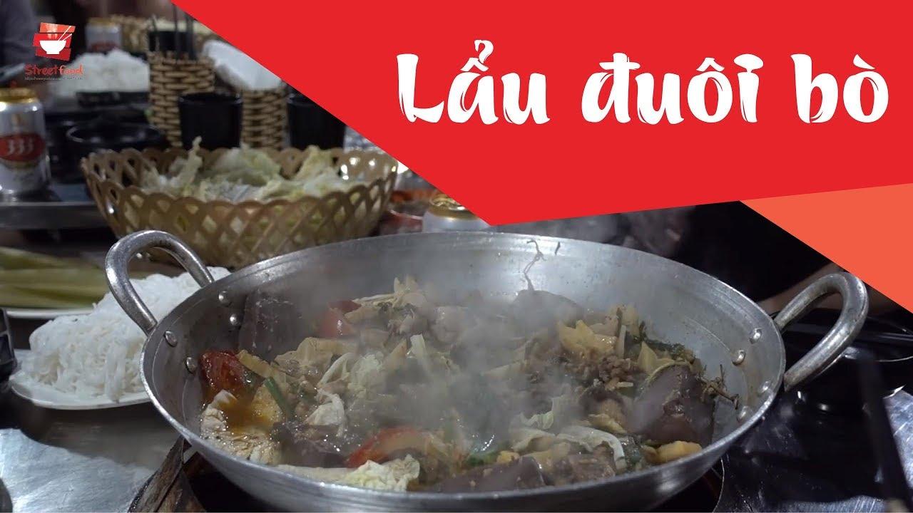 Lẩu đuôi bò, lòng bò, gân bò lai rai   Ẩm thực đường phố Việt Nam