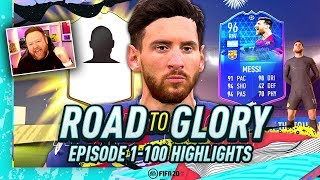 FIFA 20 ROAD TO GLORY - THE STORY SO FAR! (EP 1-100 HIGHLIGHTS)