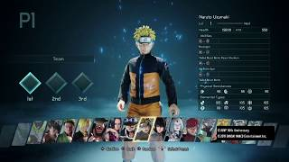 JUMP FORCE - ALL 40 CHARACTERS (FULL ROSTER)
