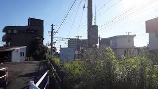 8862レ(メトロ18000系甲種輸送)沼津~三島通過