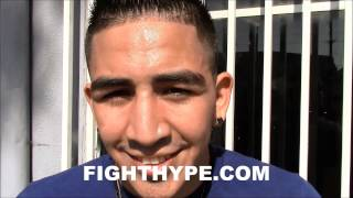 LEO SANTA CRUZ PREDICTS WHO MAYWEATHER WILL FIGHT NEXT; SAYS KEITH THURMAN COULD BE A TOUGH FIGHT