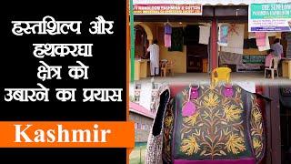 Kashmir शिल्प मेले में देखें बुनकरों की कारीगरी Pashmina Shawl, Carpet के अलावा बहुत कुछ |Handicraft