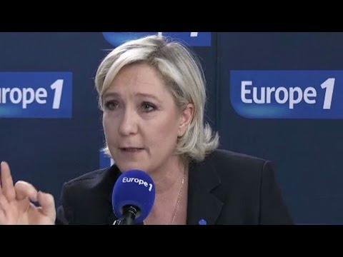 """Marine Le Pen : """"Je serai en tête le soir du premier tour !"""""""