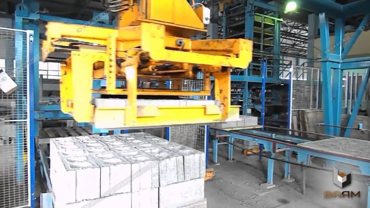 Завод ''ВАЯМ'' - Вибропрессованные стеновые блоки / кирпичи Евро .
