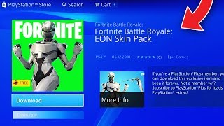 "*NEW* How To GET ""EON SKIN PACK"" In Fortnite! (EXCLUSIVE Free SKIN STARTER PACK LEAKED in FORTNITE)"