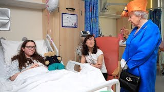 Queen Elizabeth visits Manchester attack victims