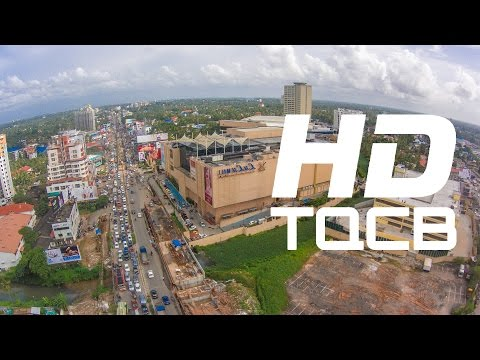 Kochi (Cochin) - 2013 | Kerala | India | Stock Footage | Helicam India | 4K