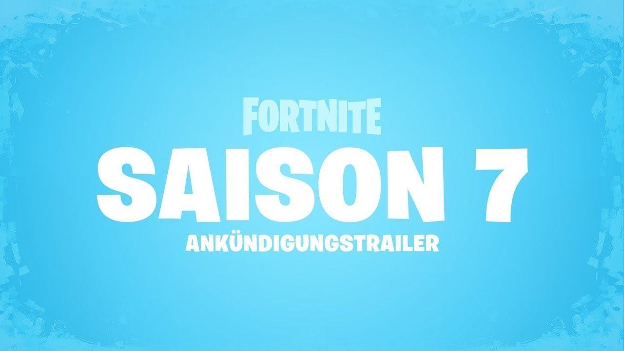 Fortnite Season 7 Trailer Willkommen Im Winter Youtube