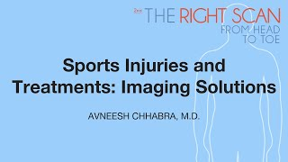 Sports Injuries and Treatments: Imaging Solutions