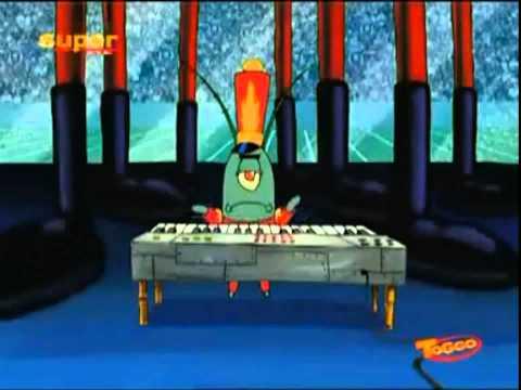 Sponge Bob Sings Clocks By Coldplay