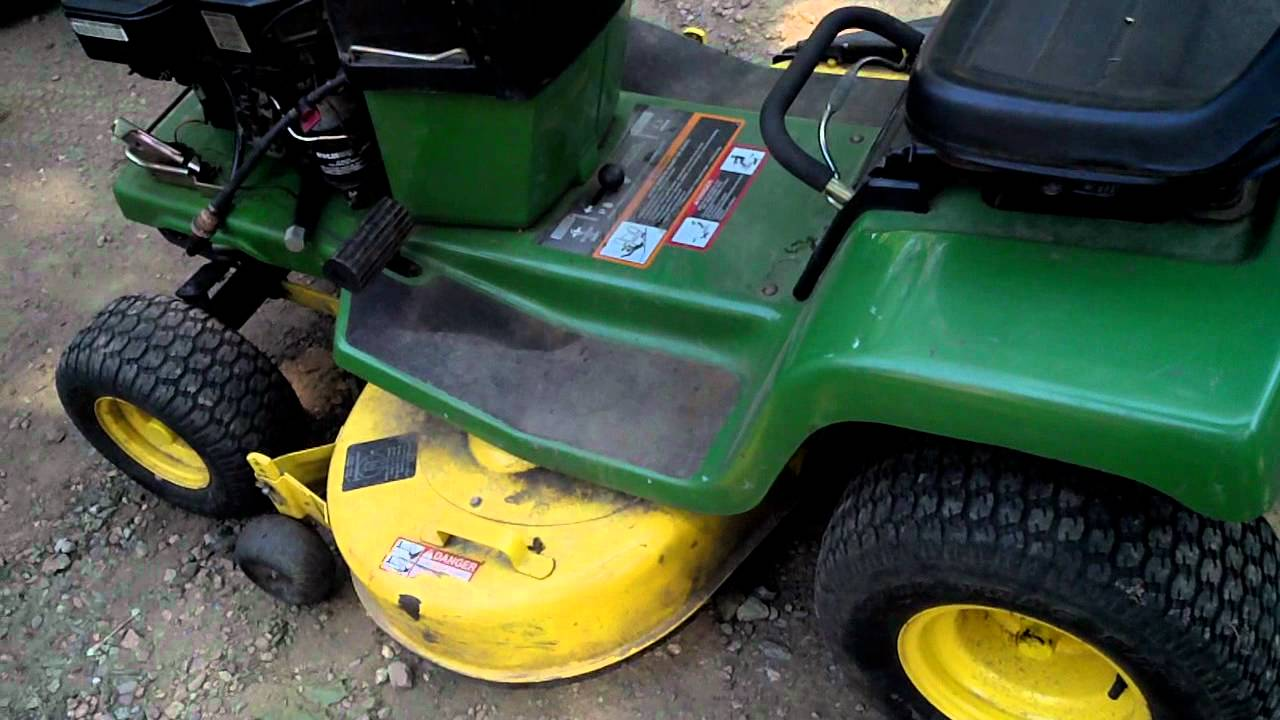 maxresdefault john deere stx38 yellow deck 5 speed youtube john deere stx38 yellow deck wiring diagram at creativeand.co