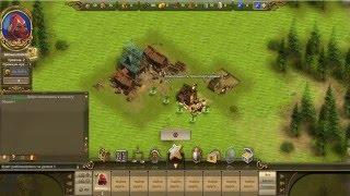 Браузерная игра The Settlers Онлайн # 1 Начало строительства!
