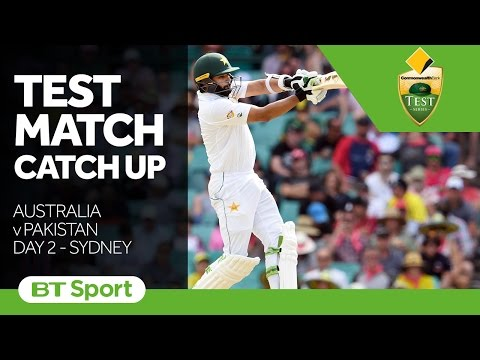 Australia vs Pakistan  Third Test  Day Two Highlights   Test Match Catch Up New Flash Game