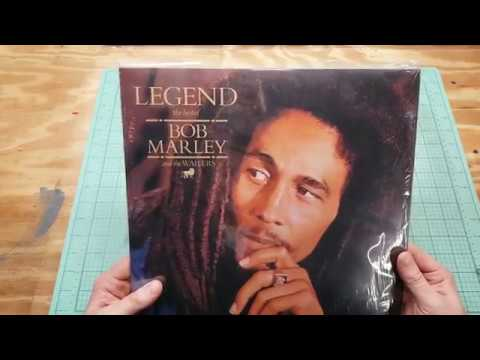 Legend Bob Marley and the Wailers Greatest Hits 2009 vinyl unboxing/review