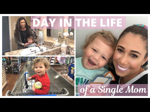 A DAY IN THE LIFE OF A SINGLE WORK FROM HOME MOM | Toddler Daily Routine