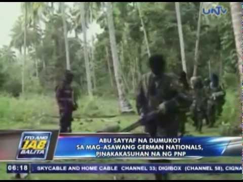Abu Sayyaf na dumukot sa mag-asawang German nationals, pinakakasuhan na ng PNP