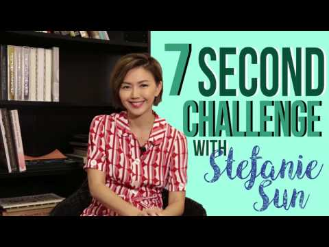 7 Second Challenge with Stefanie Sun