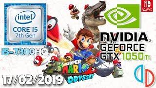 Super Mario Odyssey on PC Lenovo Y520 i5-7300HQ Yuzu Emulator