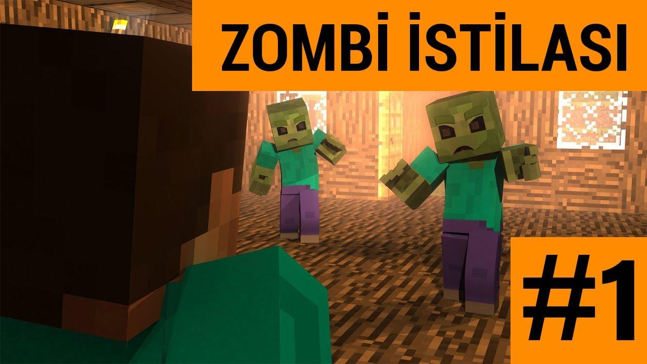 Minecraft Walking Dead #1   Isıran ZOMBILER !!! 😈