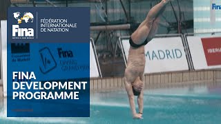 The FINA Development Programme helps divers fulfil their dreams